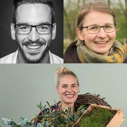 Helen Kreuzkamp, Jan Orthey & Marion Schouten